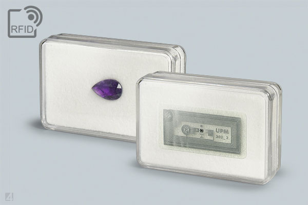 gemstone box with rfId transponder