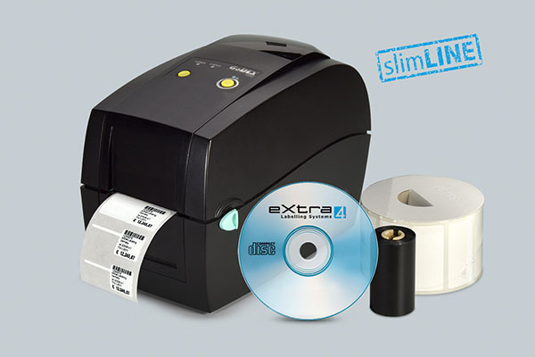 slimLINE drucker200 compo RT200 Starter-Kit