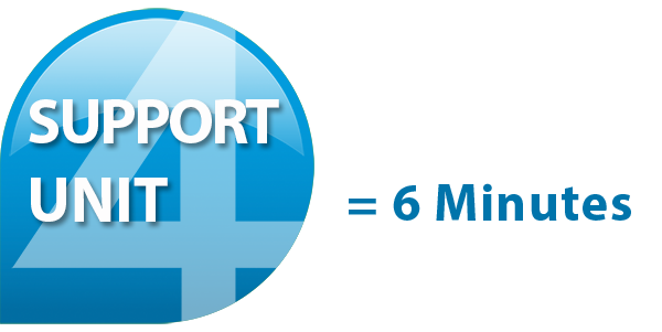 support einheit 6min en