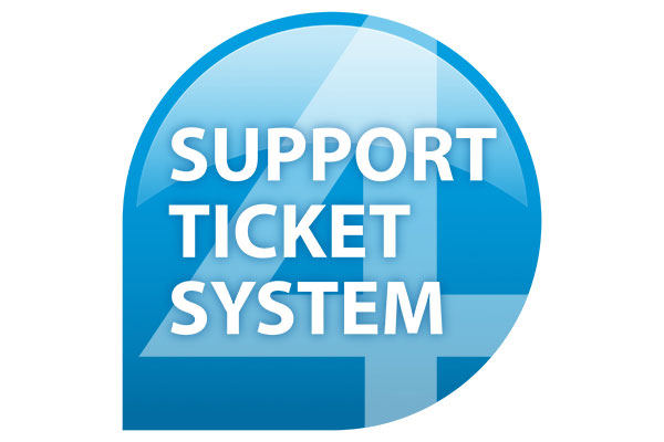 support ticket system by eXtra4 Labelling Systems